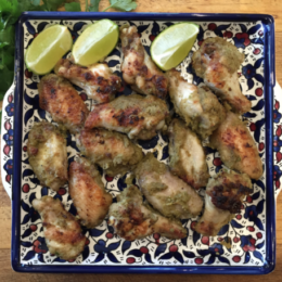 Thai Green Chicken Wings