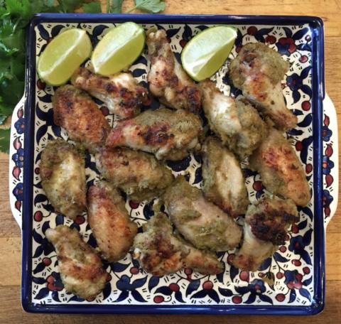 Thai Green Chicken Wings