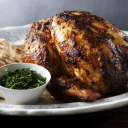 Whole Indian Roast Chicken