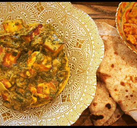 how to make saag easy