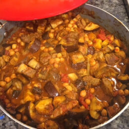 lamb aubergine and chickpea 2